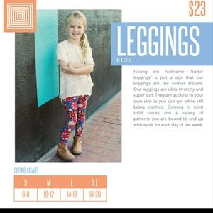 Lularoe kids leggins